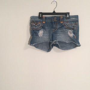 Underground soul jean short shorts